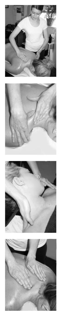 Clare Price, Back Massage, Neck Massage, Shoulder Massage